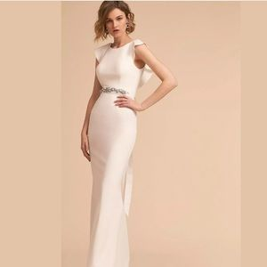 NWT BHLDN ADRIANNA PAPELL ELIOT WEDDING DRESS